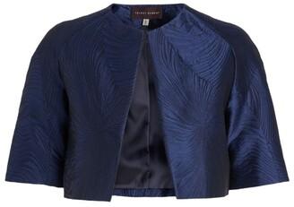 Talbot Runhof Nununu Cropped Jacquard Jacket