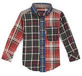 Class Club 2T-7 Mixed Plaid Woven Shirt