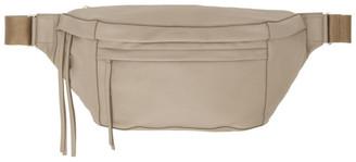 Joseph Taupe Leather Bum Bag