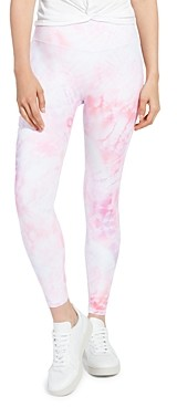Aqua Athletic Tie Dye High Rise Leggings - 100% Exclusive