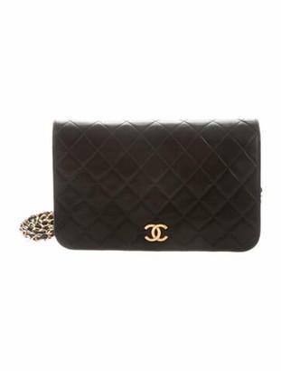Chanel Vintage Quilted Flap Bag Black