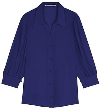 Stella McCartney Reese Silk Crepe De Chine Shirt