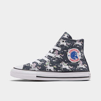 Converse Girls' Little Kids' Chuck Taylor Unicorns High Top Casual Shoes