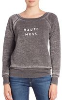 Milly Haute Mess Graphic Sweatshirt