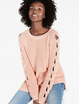 Lucky Brand Cut Out Detail Sweater