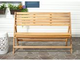 Safavieh Outdoor Luca Teak Folding Bench