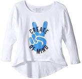 The Original Retro Brand Kids Create Peace of Mind High-Low 3/4 Sleeve (Big Kids)