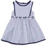 Tartine et Chocolat Girls' Embroidered Striped Dress