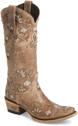 Lane Boots Sweet Paisley Embroidered Western Boot