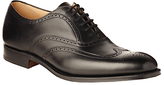 Church's Berlin Leather Brogue Oxford Shoes, Black
