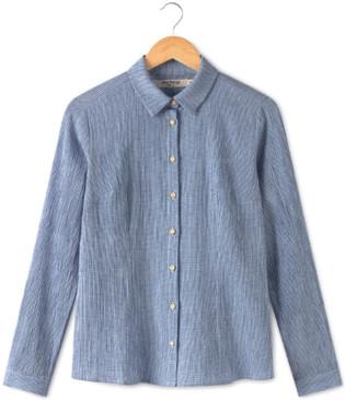 Nice Things Fantasy Fabric Basic Shirt - 42
