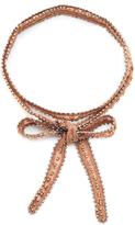 Chan Luu Multi Way Bead Embellished Chiffon Wrap