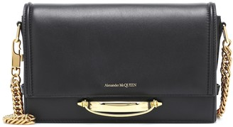 Alexander McQueen The Story Chain leather shoulder bag