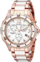 Citizen Women's Ceramic FB1233-51A Wrist Watches, White Dial