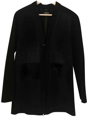 Elie Tahari Navy Wool Jacket for Women