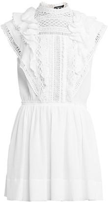 Isabel Marant Ianelia Embroidered Mini Dress