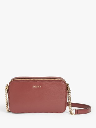 DKNY Bryant Leather Camera Cross Body Bag