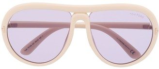 Tom Ford FT0768 aviator-frame sunglasses