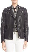 Belstaff Burnett Leather Moto Jacket