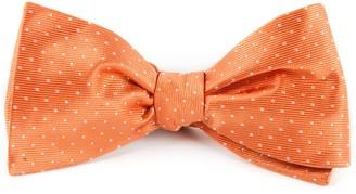 The Tie BarThe Tie Bar Tangerine Mini Dots Bow Tie