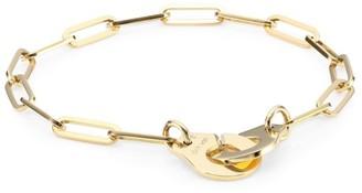 Dinh Van Menottes 18K Yellow Gold Chain Bracelet
