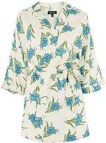 Topshop Botanical Print Robe
