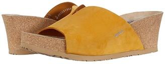 Mephisto Lisane (Ochre Sandalbuck) Women's Shoes