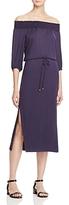 Ella Moss Off-the-Shoulder Midi Dress