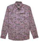 Burton Mens Purple Long Sleeve Printed Shirt