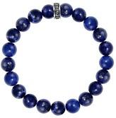 King Baby Studio Men's Lapis Lazuli Bead Bracelet