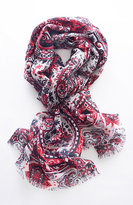 J. Jill Terrace Scroll Scarf
