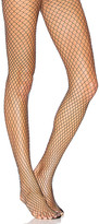 Pretty Polly Fishnet Tights in Black.