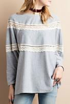 Easel Super Cozy Tunic