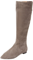 Pointed-Toe Tall Boot
