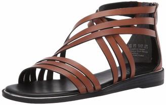 Franco Sarto Women's GAETANA Slide Sandal Light Brown 7 M US