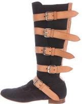 Vivienne Westwood Suede Knee-High Boots