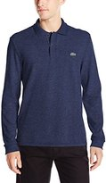 Lacoste Men's Long Sleeve Classic Chine Pique Polo