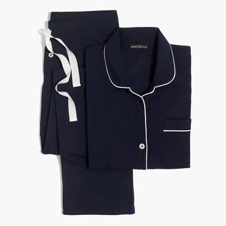 J.Crew Petite knit pajama set