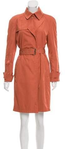 Akris Long Sleeve Trench Coat