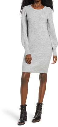 Vero Moda Simone Long Blouson Sleeve Sweater Dress