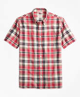 Mens Pink And Blue Plaid Shirt - ShopStyle