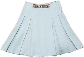 Celine Beige Cotton Skirt for Women Vintage