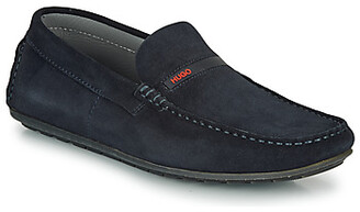 HUGO BOSS HUGO DANDY MOCC SD2 men's Loafers / Casual Shoes in Blue