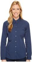 Columbia Harborside Woven Long Sleeve Shirt Women's Long Sleeve Button Up