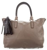 Anya Hindmarch Stingray-Trimmed Huxley Tote