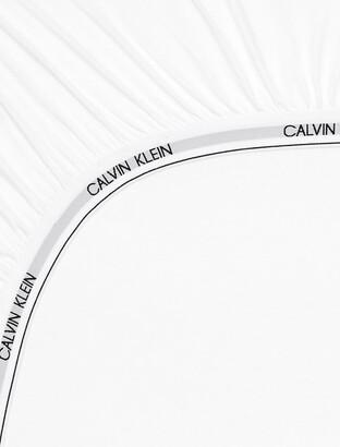 Calvin Klein Modern Cotton - Body Fitted Sheet In White