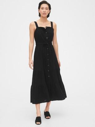 Gap Apron Maxi Dress