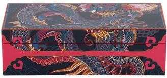Medium Dragon Lacquer Jewelry Box
