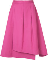 ESTNATION pleated full skirt