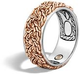 John Hardy Braided Chain Band Ring